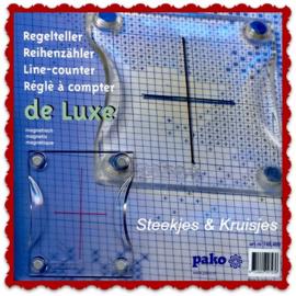 Regelteller de Luxe voor borduurpatronen