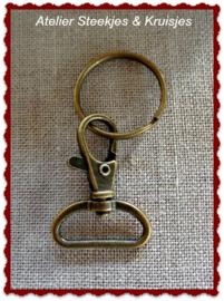 Sleutelhangerset brons