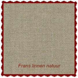 Frans borduurlinnen natuur 14-draads 45 x 50 cm