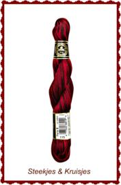 DMC Perlé no. 12 verlopend borduurgaren kleur 115