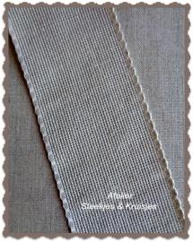 Borduurband Aida linnen-katoen 70 mm kleur natuur