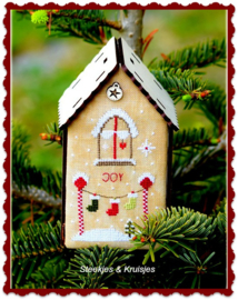 """Nichoir de Noel """"Joy"""""""