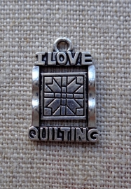 "Bedel ""I love quilting"""