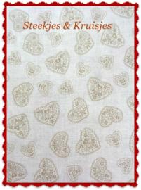 Coupon Scandia serie beige 23 x 110 cm
