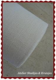 100 cm Vaupel  36 count  linnen banding in antique white, wide 160 mm