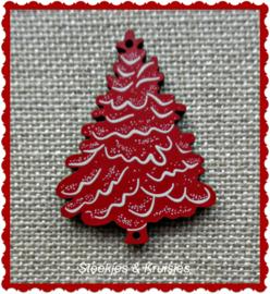"""Houten kerstknoop """"Sapin Rouge"""""""