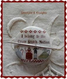 "Needle Nanny ""Cross Stitch Nation"""