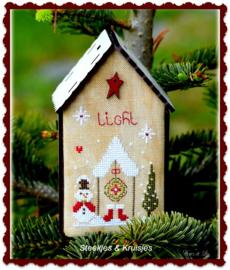 """Nichoir de Noel """"Light"""""""