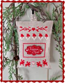 """S & K """"Bouton Joyeux Noel"""" compleet pakketje"""