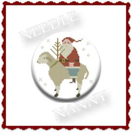 "Needle Nanny ""German Santa"""