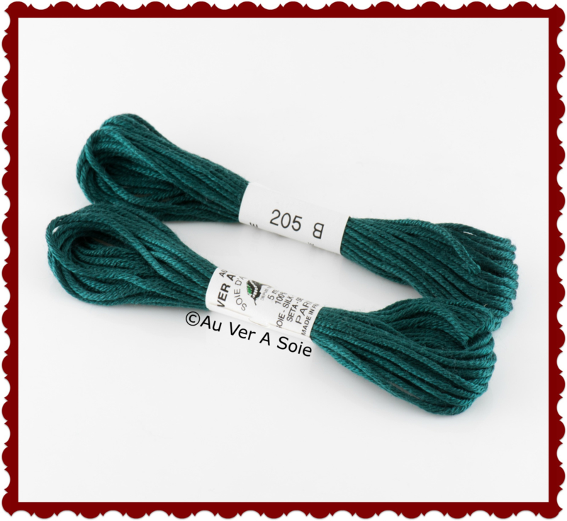 "Au Ver A Soie ""Soie d'Alger"" silk thread no. 205"