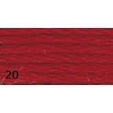 Anchor Mouliné nr. 20 warm rood