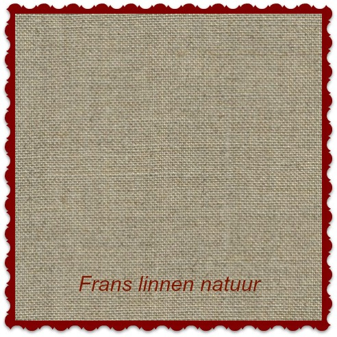 Frans borduurlinnen 19-draads 50 x 75 cm kleur natuur