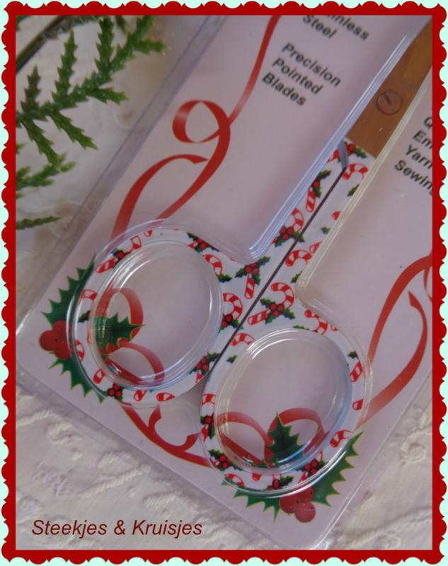 """Schaartje """"Christmas""""nr. 5"""