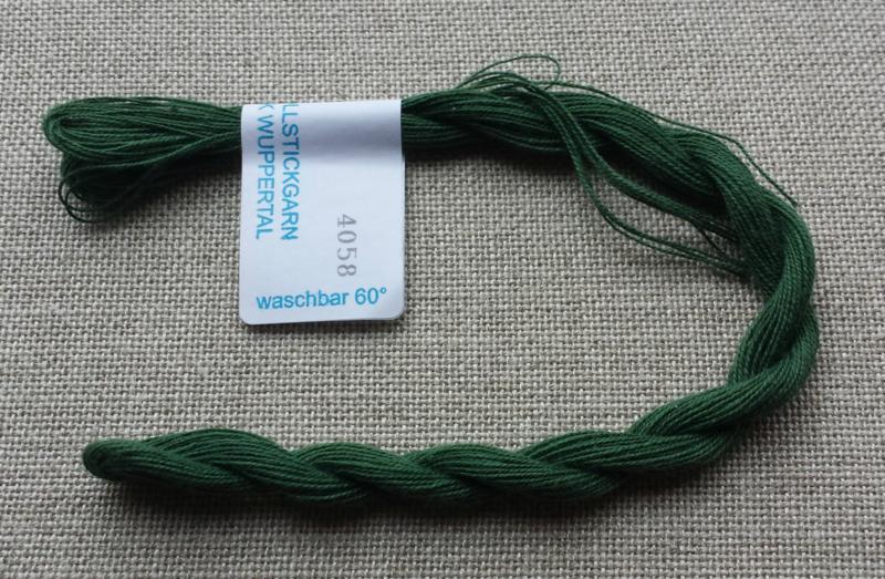Vaupel & Heilenbeck borduurgaren nr. 4058 donkergroen
