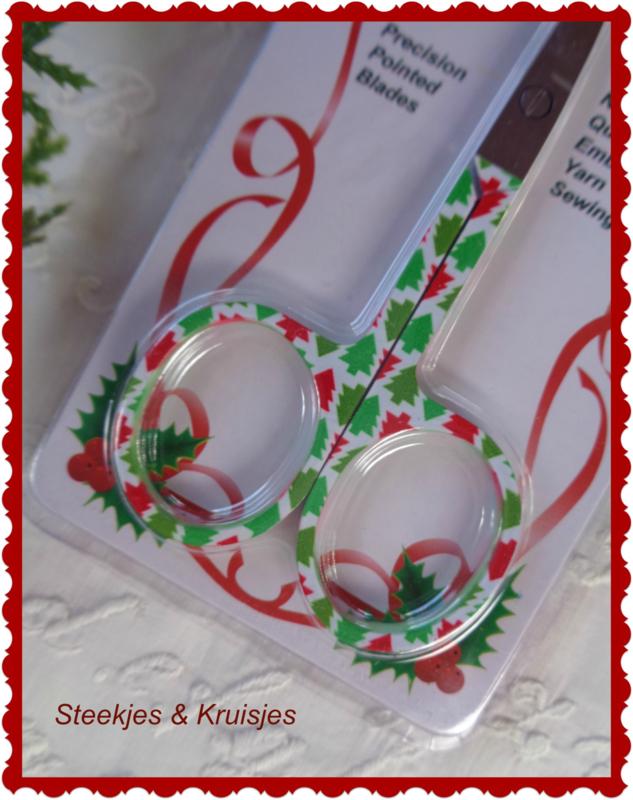 """Schaartje """"Christmas"""" nr. 3"""