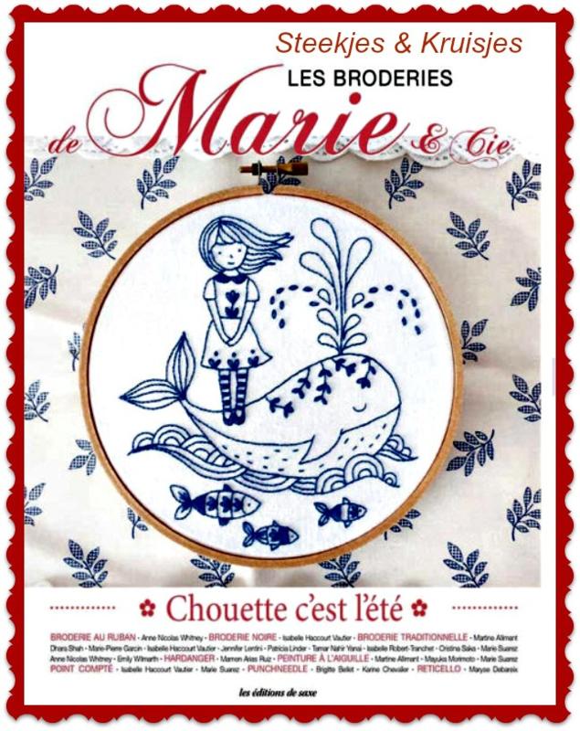 """Les Broderies de Marie """"Chouette c'est L'été"""""""