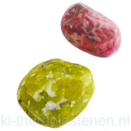 Noorse kracht set: Lizardiet  noorse Jade TS (XXL) en Thuliet (XL) Set. van 2 st.