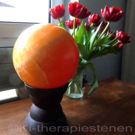 Calciet,  Oranje Calciet Bol Ø 18 cm (Mexico) 9,1 kg.