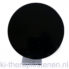 Obsidiaan spiegel ø 12 cm