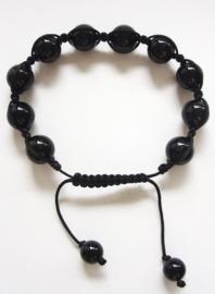 Onyx, Shamballa armband