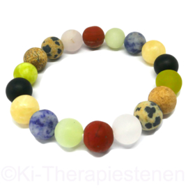 Multi-colour armband mat  ø 10 mm armband p.st.