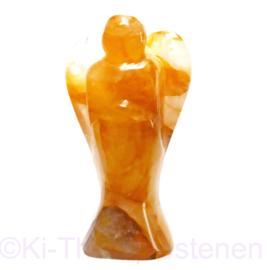Beschermengel GROOT 16 cm Golden Lemurian Engel AA-kwaliteit 1x Uniek ex.
