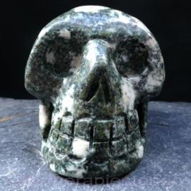 Schedel Preseli, Bluestone, ø 7 cm   1x uniek ex. (0,27 kilo)
