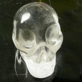 Schedel Bergkristal A kwaliteit L. 6 cm 1x uniek ex.
