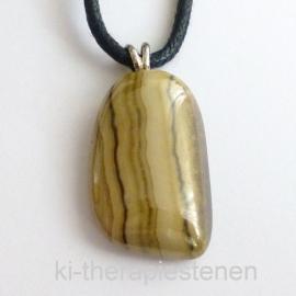 Schalenblende, Sphaleriet(Zinksuliede) edelsteen hanger