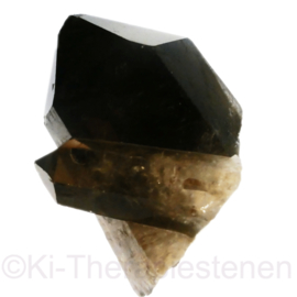 Rookkwarts kristal 1x uniek ex.