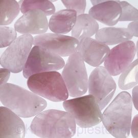 Lavendel kwarts (L) trommelsteen per st.*