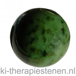 Nefriet A kwaliteit, Jade Bol 5cm in luxe geschenkverpakking