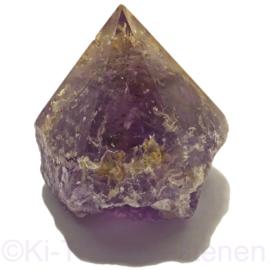 Amethist kristalpunt A-Q. staander Bolivia ca  7 cm hoogte