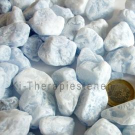Calciet  Blauw Waterstenen 100/ 200 gram voor watervitalisatie