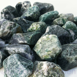 Agaat, Mos, Mosagaat  Waterstenen 100/200 gram voor watervitalisatie