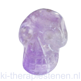 Schedel Amethist Lavendel 3 cm