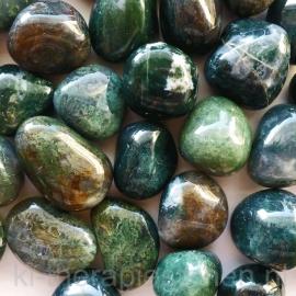 Agaat: Mosagaat trommelsteen (XL) per st.*