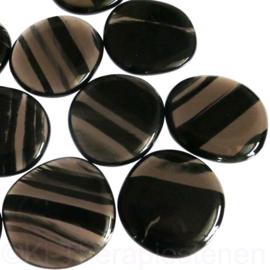 Obsidiaan, Lamellen platte edelsteen per st.