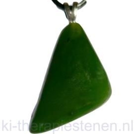 Nefriet (Jade) hanger per st.