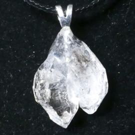 Herkimer (Twin) Diamant  hanger 1x uniek ex.
