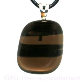 Obsidiaan, Lamellen A kwaliteit hanger 1x Uniek