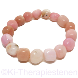 "Opaal ""Andesopaal Pink"" armband p.st."