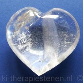 Bergkristal Hart 4,5 cm