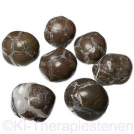 Agaat: Amuletsteen, Mexicaanse (Donderei/Steragaat) (XL) 30 gr. p.st.
