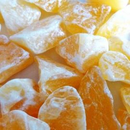 Calciet Oranje Waterstenen 100/200 gram voor watervitalisatie