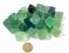 Fluoriet, groen oktaeders ø 2-2,5 cm per st.