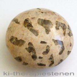 Vasthoud Rondo Schrift (steen) Graniet