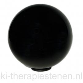 Obsidiaan zwart Bol 6 cm