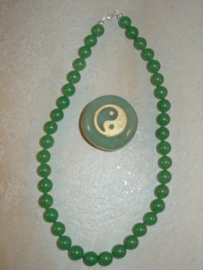 Aventurijn ketting groen 46 cm